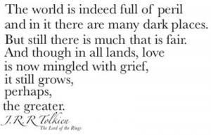 ... lands love is now mingled with grief, it grows perhaps the greater