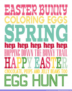 ... Trail Happy Easter Chocolate, Peeps And Jelly Beans Too Egg Hunt
