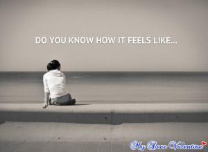 Sad love quotes - Do you know how