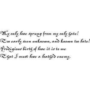 Romeo And Juliet Quote Act