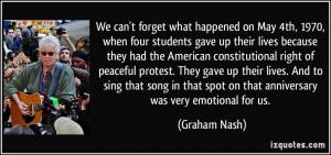 More Graham Nash Quotes