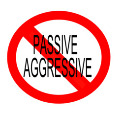 ... of the many behaviors that fall into the passive aggressive category