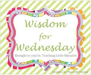 Wisdom for Wednesday - Prayer Rights