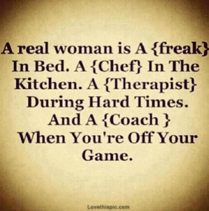 quotes about being a real woman