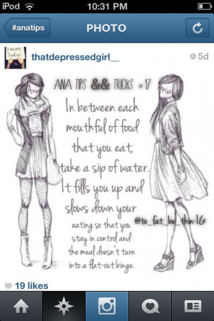 Pro Anorexia Quotes