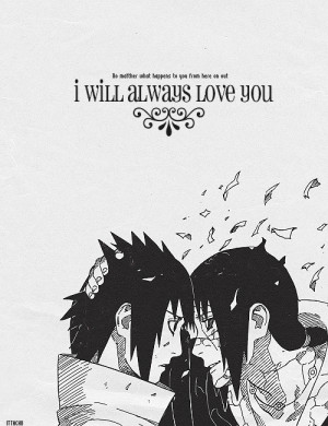 No one loved Sasuke more than his big brother.