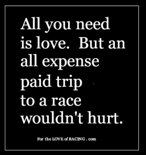 Funny Racing Quotes Happy valentine's day racing