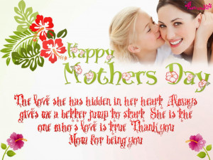 """Mother""""s Day Saying And Quote"""