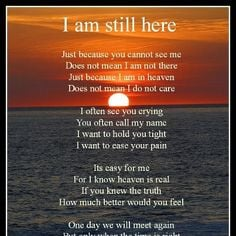 Memorial Poems for Loved Ones Lost
