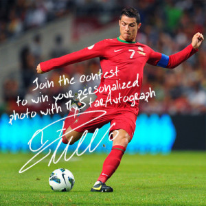 Hi to all Cristiano´s loyal fans, this is the surprise for you today ...