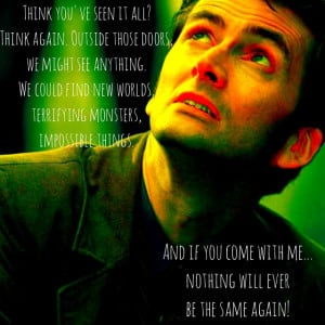 Doctor who quotes 10th doctor