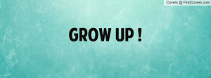 Grow up ! cover
