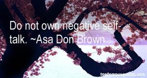 Negative Self Talk Quotes