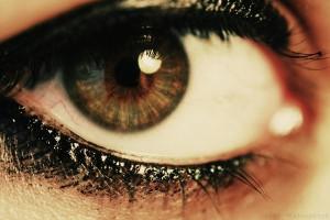 Sad Crying Brown Eyes Behind these hazel eyes by