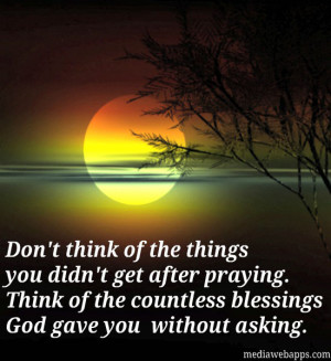quotes about gods blessings thank you god for all your quotes about ...