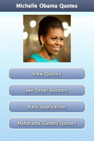 View bigger - Michelle Obama Quotes for Android screenshot