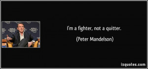 More Peter Mandelson Quotes