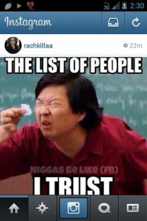 Trust quotes, instafunny, hangover, small list, instagram
