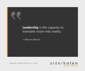 Leadership is the capacity to translate vision into reality. —Warren ...