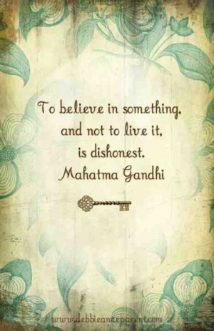 20 Picture Quotes from Mahatma Gandhi whose spirituality and belief in ...
