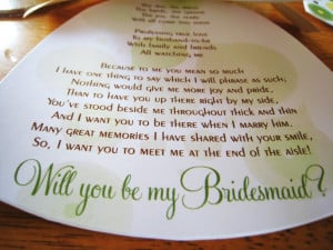... the cards on the etsy website by searching will you be my bridesmaid
