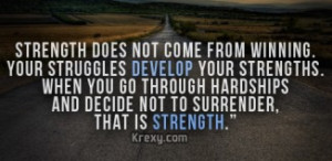 inspirational quotes about strength in hard times ... strength in hard