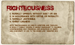 Romans 3:22: Even the righteousness of God which is by faith of Jesus ...