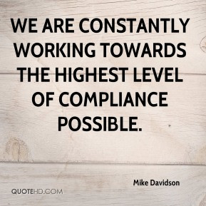 Compliance Quotes
