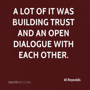 Quotes Building Trust ~ trust is such a huge word quotes on trust ...