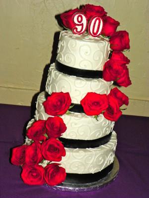 90th Birthday Cake Quotes http://kootation.com/tier-90th-birthday-cake ...