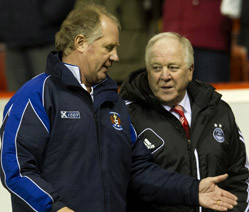 Craig Brown and Jimmy Nicholl