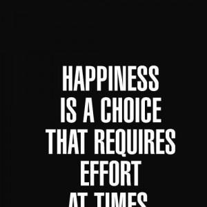 Choose happy ;)