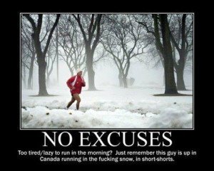 You Have No Excuses