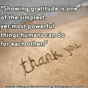 Gratitude, Life quotes,