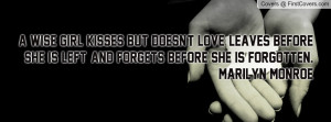 Related Pictures wise girl facebook timeline cover girls melancholy ...