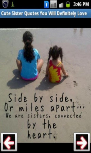 cute sister quotes you will definitely love for you in one application ...