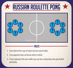 Russian roulette explained