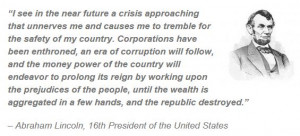 Lincoln Money Quote Abraham