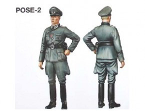 Wwii Wehrmacht Officer Plastic Model