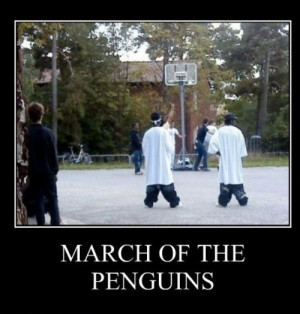 March of the Ghetto Penguins