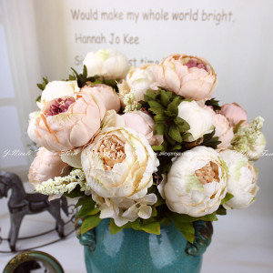images cake decorations silk peony rose wedding cake decoration