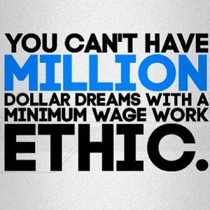 essay on work ethic