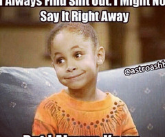 Raven Symone Cosby Show Quotes