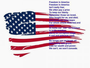 free patriotic poems including Veterans Day poems, Memorial Day poems ...