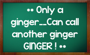 Funny Ginger Quotes Buzzlol The Way