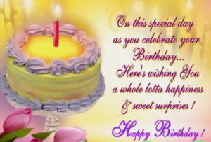 Birthday Wish For Someone Special!:)