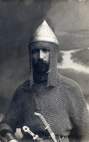 Russian orthodox quotes quotesgram - Czar Nicholas In Chain Mail Armour With Dagger And Sword Postcard