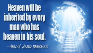 Sit Heaven Quote Heart