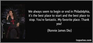 More Ronnie James Dio Quotes