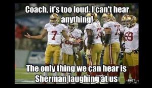 Richard Sherman Trash Talk Quotes Sherman's overreaction